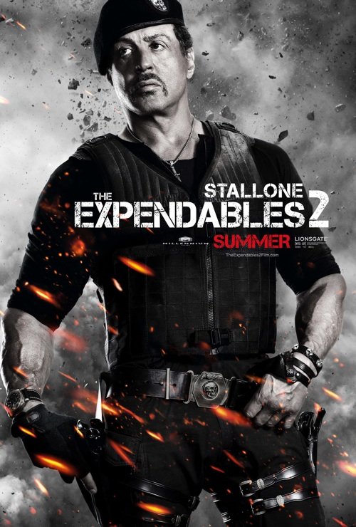 sly stallone expendables 2