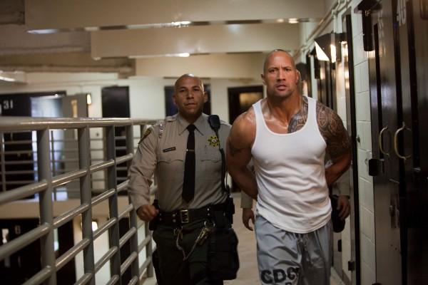 Faster movie image Dwayne Johnson