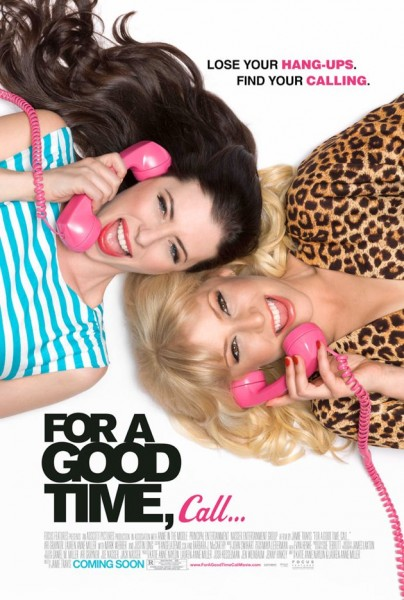 for a good time call poster