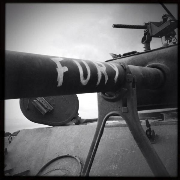 fury movie tank