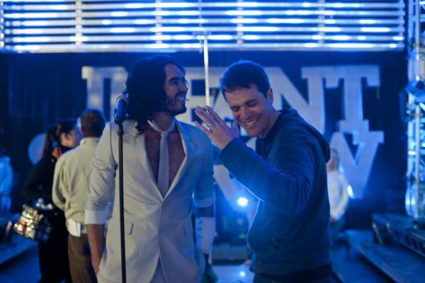 Get Him to the Greek movie image Nicholas Stoller and Russell Brand