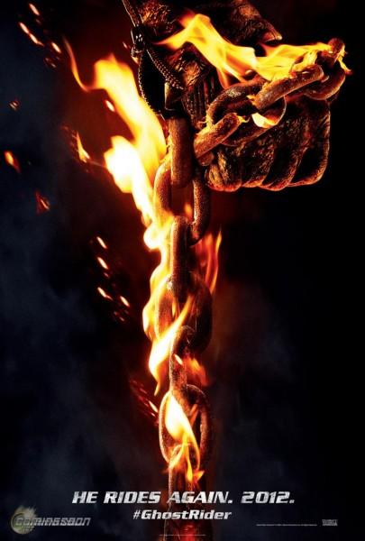 GHOST RIDER 2 SPIRIT OF VENGEANCE Poster MELANCHOLIA ...