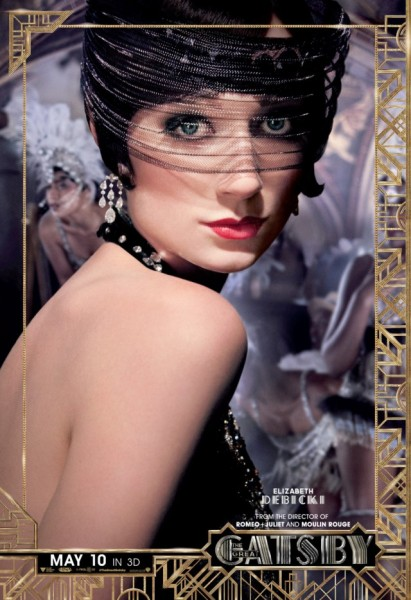 great gatsby poster elizabeth debicki