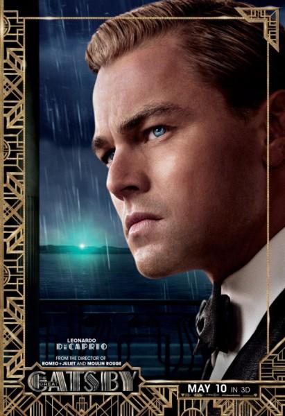 great gatsby poster leonardo dicaprio