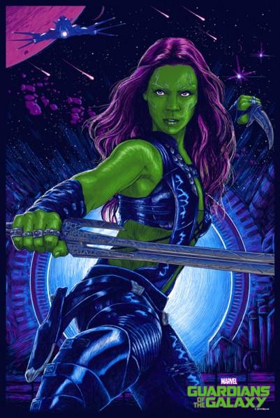 guardians-of-the-galaxy-mondo-poster-gamora