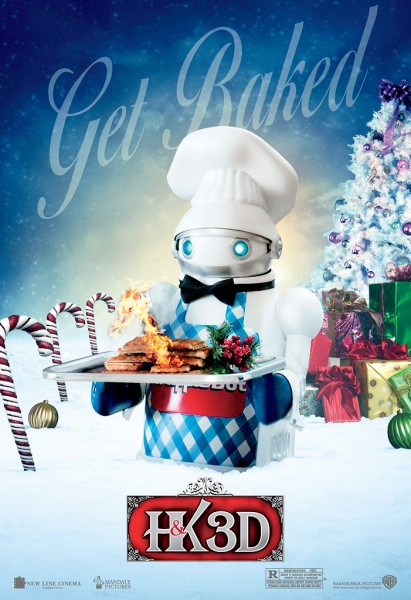 a very harold and kumar 3d christmas poster