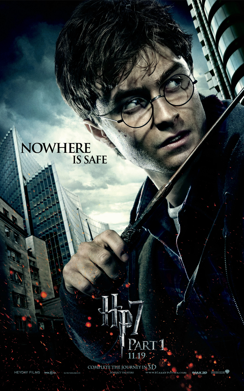 harry potter and the deathly hallows Harry, ron and hermione set out to destroy the horcruxes, the secrets to voldemort's power.
