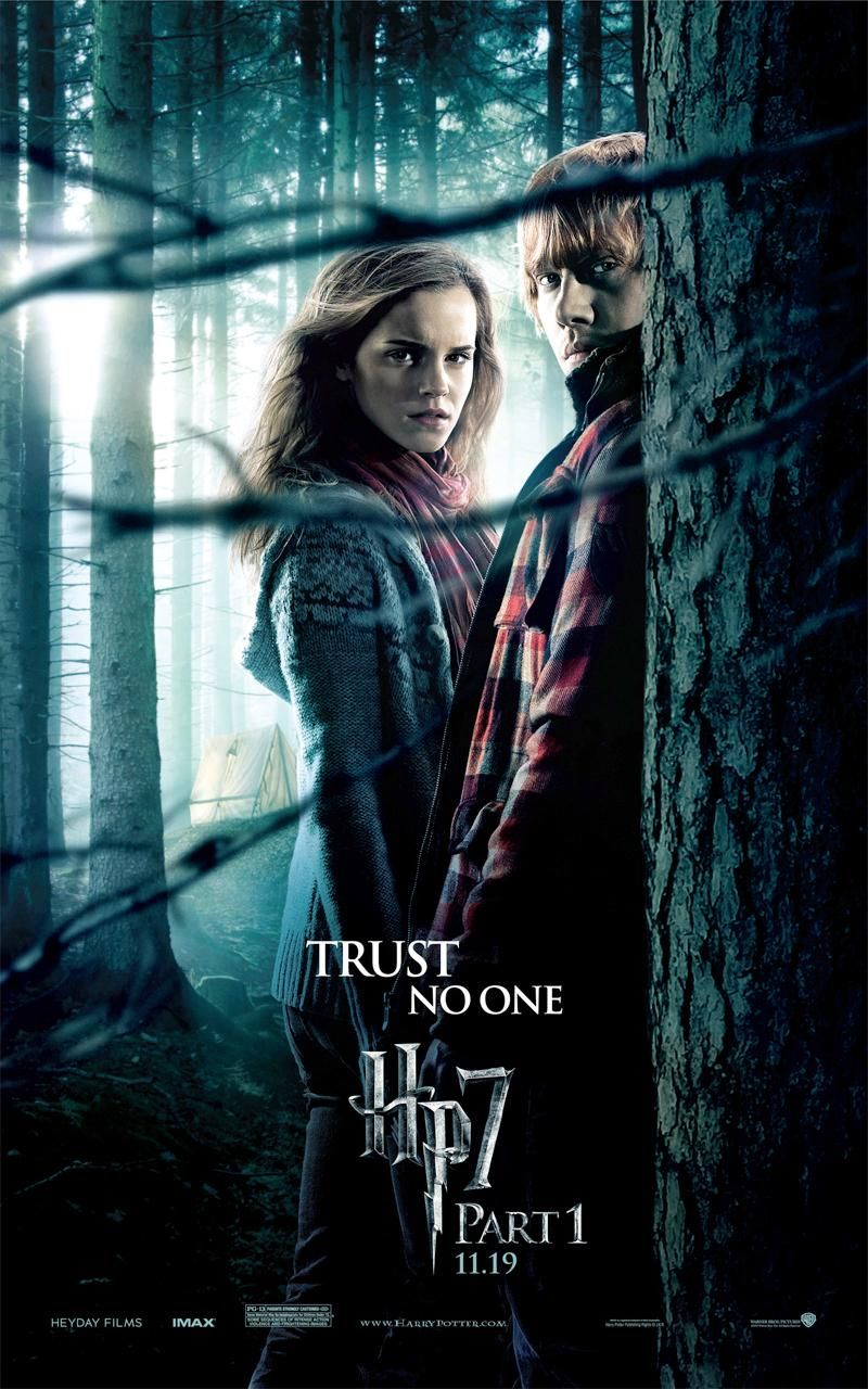 HARRY POTTER AND THE DEATHLY HALLOWS: PART I Movie Posters ...