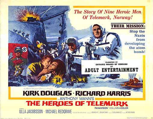 heroes of telemark poster