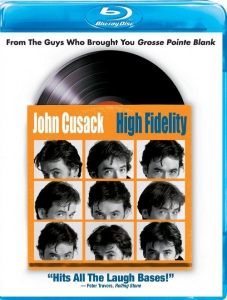 high fidelity blu ray cover