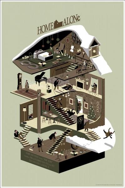 home-alone-mondo-poster-Adam-Simpson
