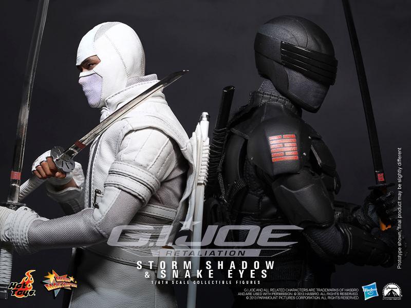 Gi Joe Retaliation Snake Eyes Vs Storm Shadow Hot Toys G.I. JOE: RET...