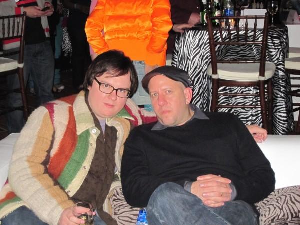 Clark Duke (left) and director Steve Pink