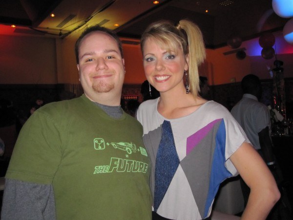 Me and Collette Wolfe