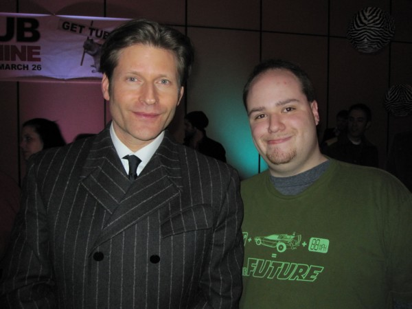 Me and Crispin Glover
