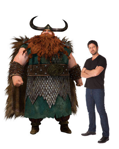 how to train your dragon 2 sequel gerard butler