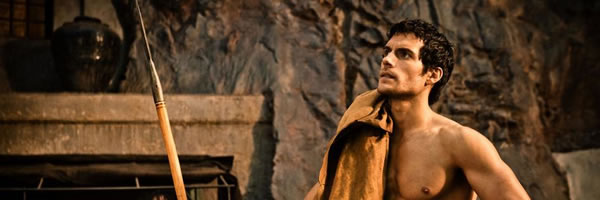 8 Clips from IMMORTALS Starring Henry Cavill and Mickey Rourke