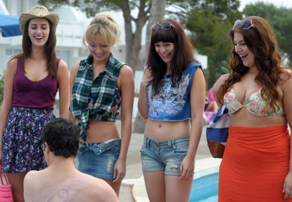 inbetweeners movie girls
