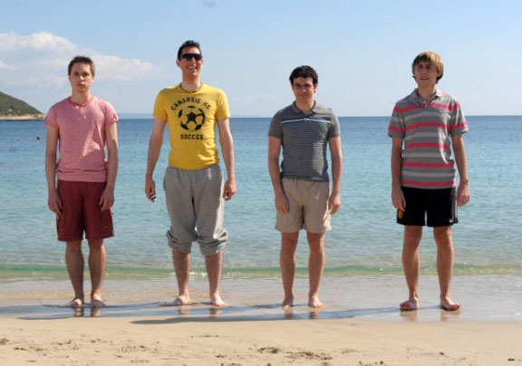 inbetweeners-simon bird-james buckley joe thomas blake harrison