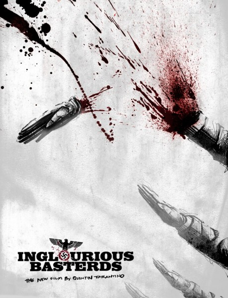 The Lost Art of Inglourious Basterds: Movie Poster by Patrick Martinez