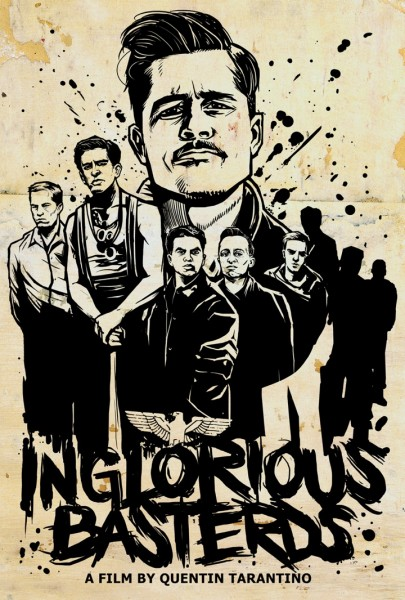 The Lost Art of Inglourious Basterds: Movie Poster by Munk One
