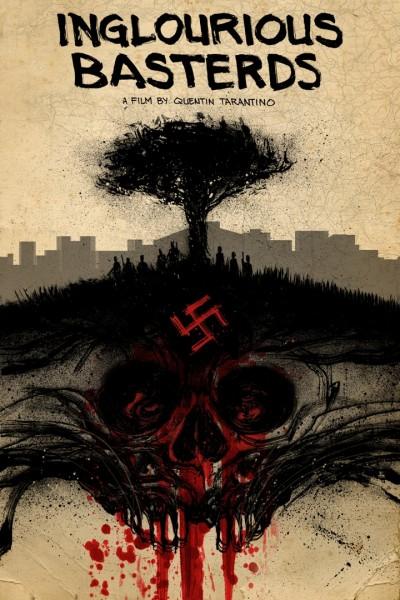 The Lost Art of Inglourious Basterds: Movie Poster by N8 Van Dyke