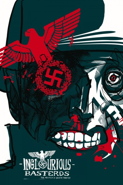The Lost Art of Inglourious Basterds: Movie Poster by Rene Almanza