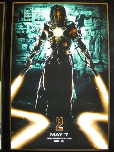Iron Man 2 whiplash movie poster