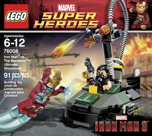iron man 3 lego box mandarin ultimate showdown