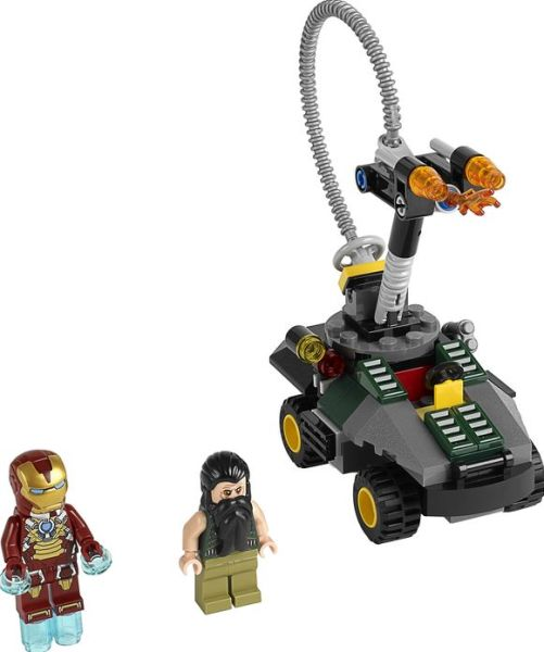 iron man 3 lego mandarin ultimate showdown