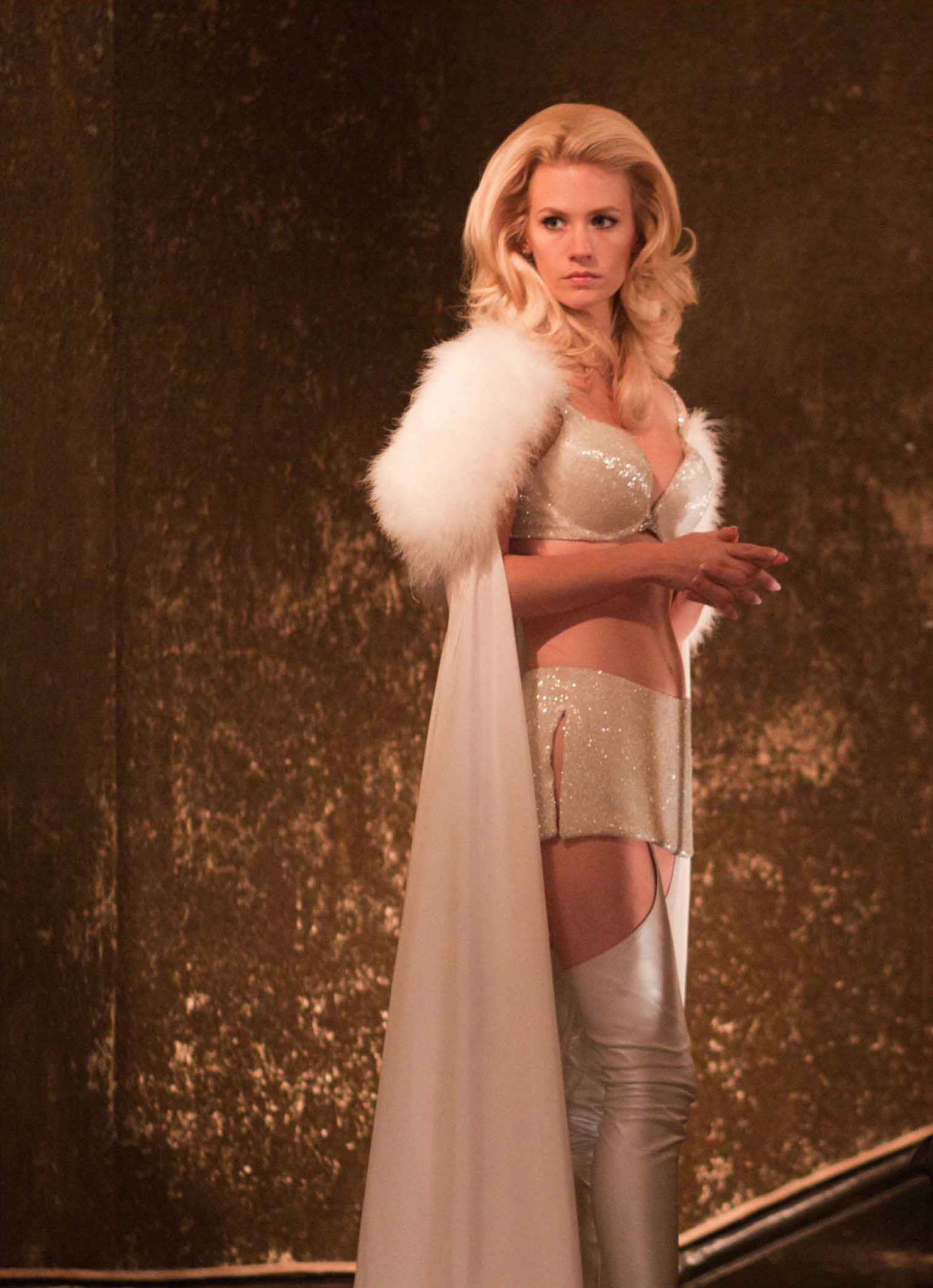 January Jones Talks SWEETWATER, Her Participation in X-MEN: DAYS OF