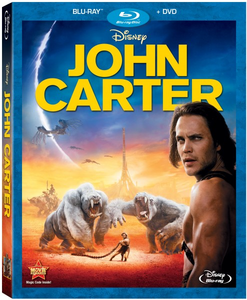 john carter blu ray cover