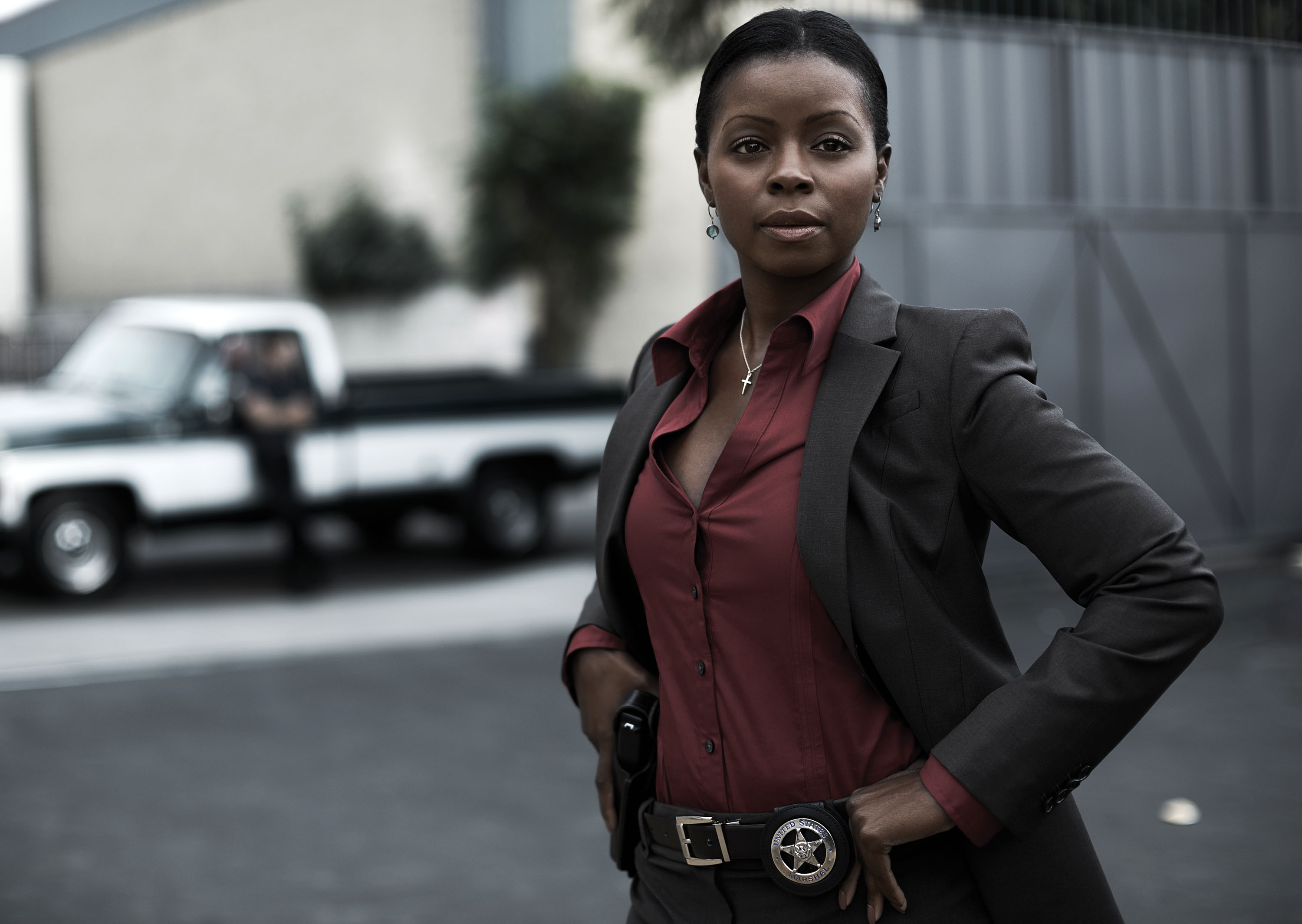 Erica Tazel And Jacob Pitts Talk Justified Season 3 Erica tazel is currently a series regular on the good fight. collider