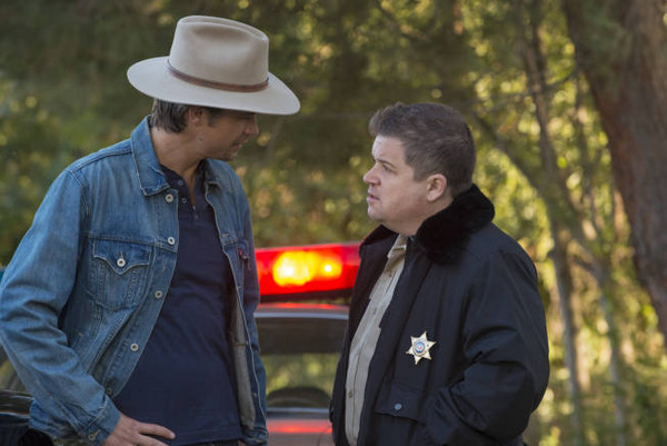 justified timothy olyphant patton oswalt