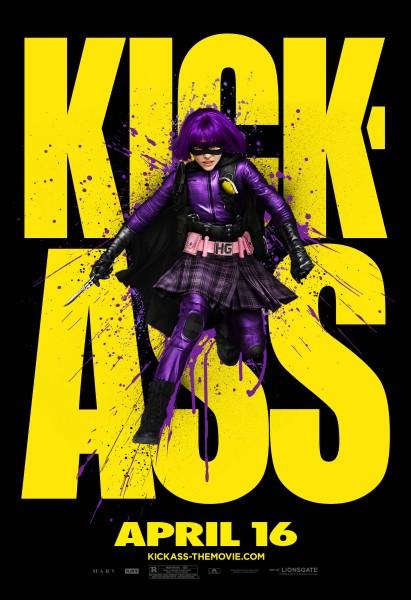 Kick-Ass movie poster Hit Girl