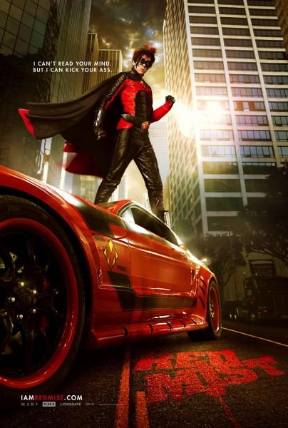Red Mist Kick-Ass 2 sequel poster