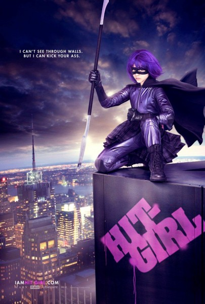 Kick-Ass movie poster Hit Girl (1)