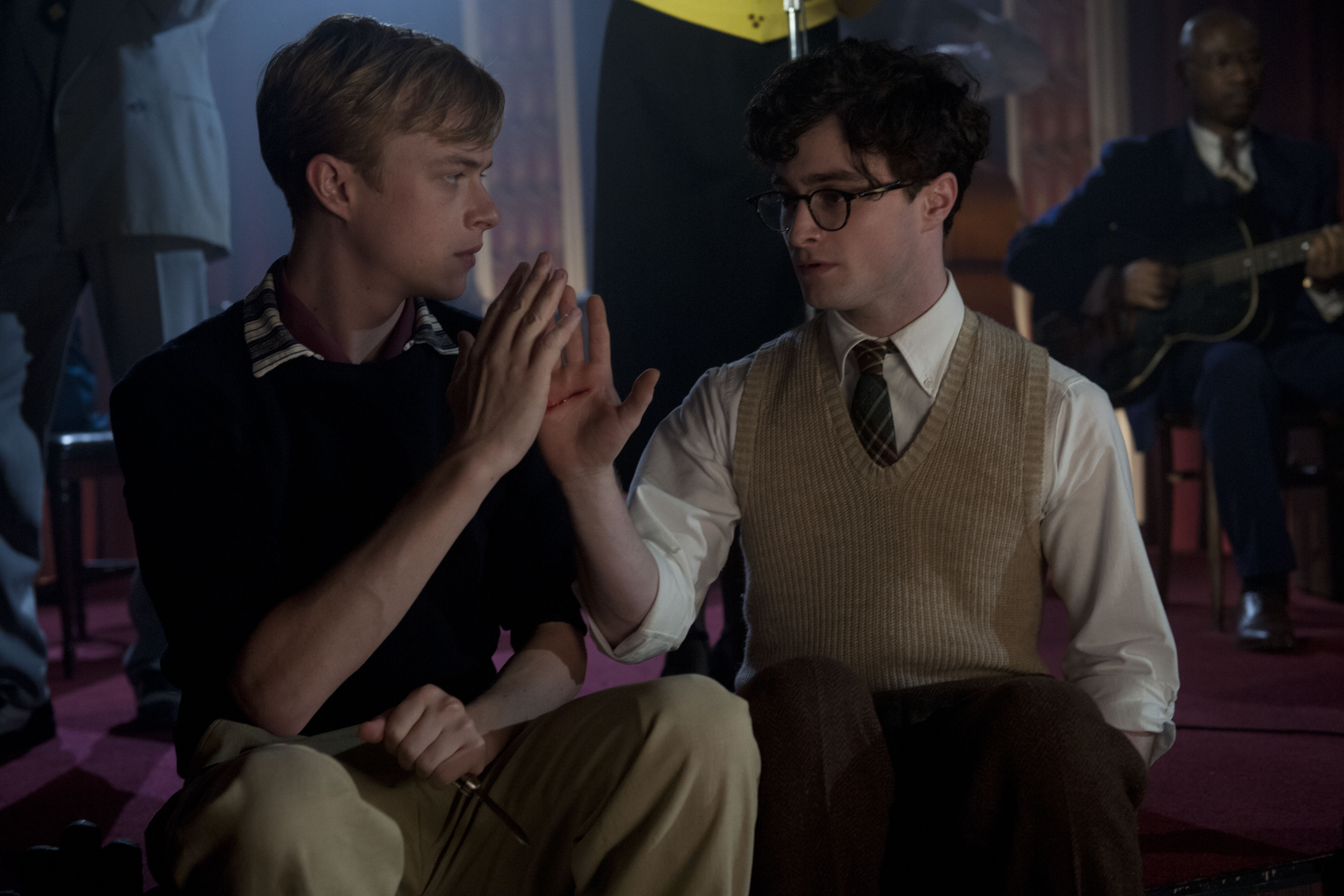 Dane DeHaan couple