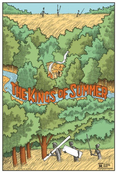 kings of summer poster jay ryan