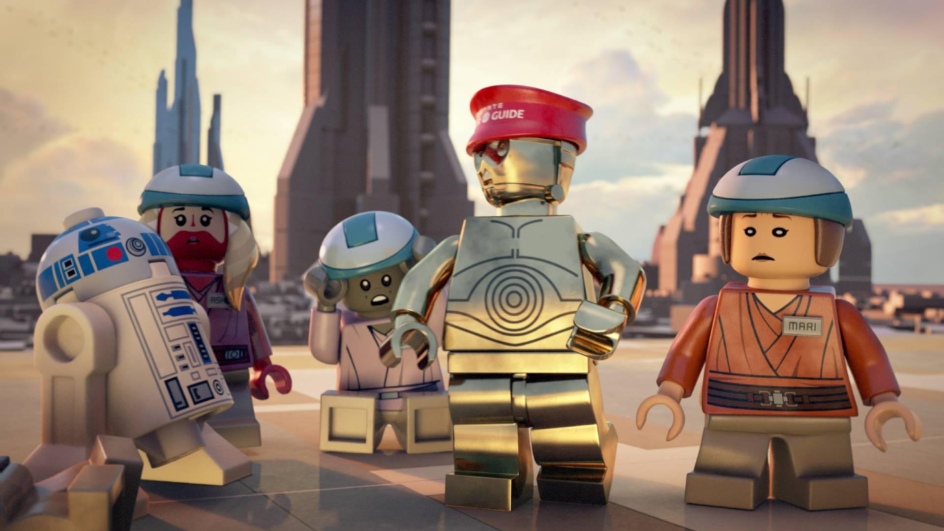 Lucasfilm announces lego star wars: the padawan menace cartoon network