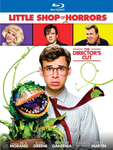 little shop of horrors blu ray cover