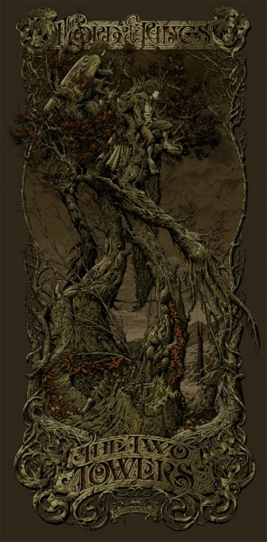 aaron-horkey-lord-of-the-rings-two-tower-mondo-variant