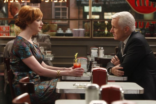 mad men christina hendricks john slattery