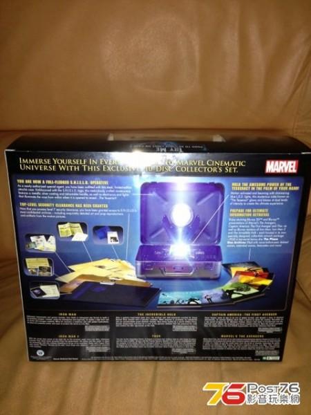 marvel phase one blu ray box set 2