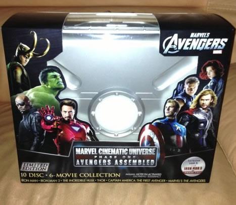 DVD és Blu-Ray kiadványok az Avengersből. Marvel-phase-one-blu-ray-box-set-20