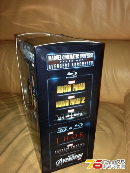 marvel phase one blu ray box set 3
