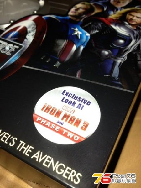 marvel phase one blu ray box set 6