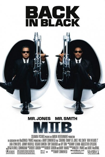 """MEN IN BLACK III"" IN 3D"