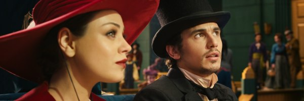 mila kunis james franco oz the great and powerful
