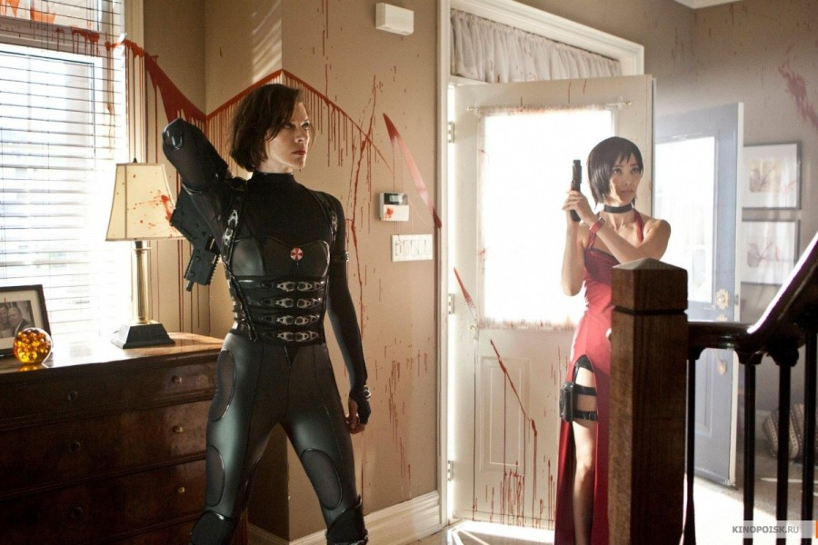 resident evil retribution images featuring milla jovovich